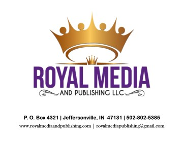 Royal Media and Publishing logo with contact information