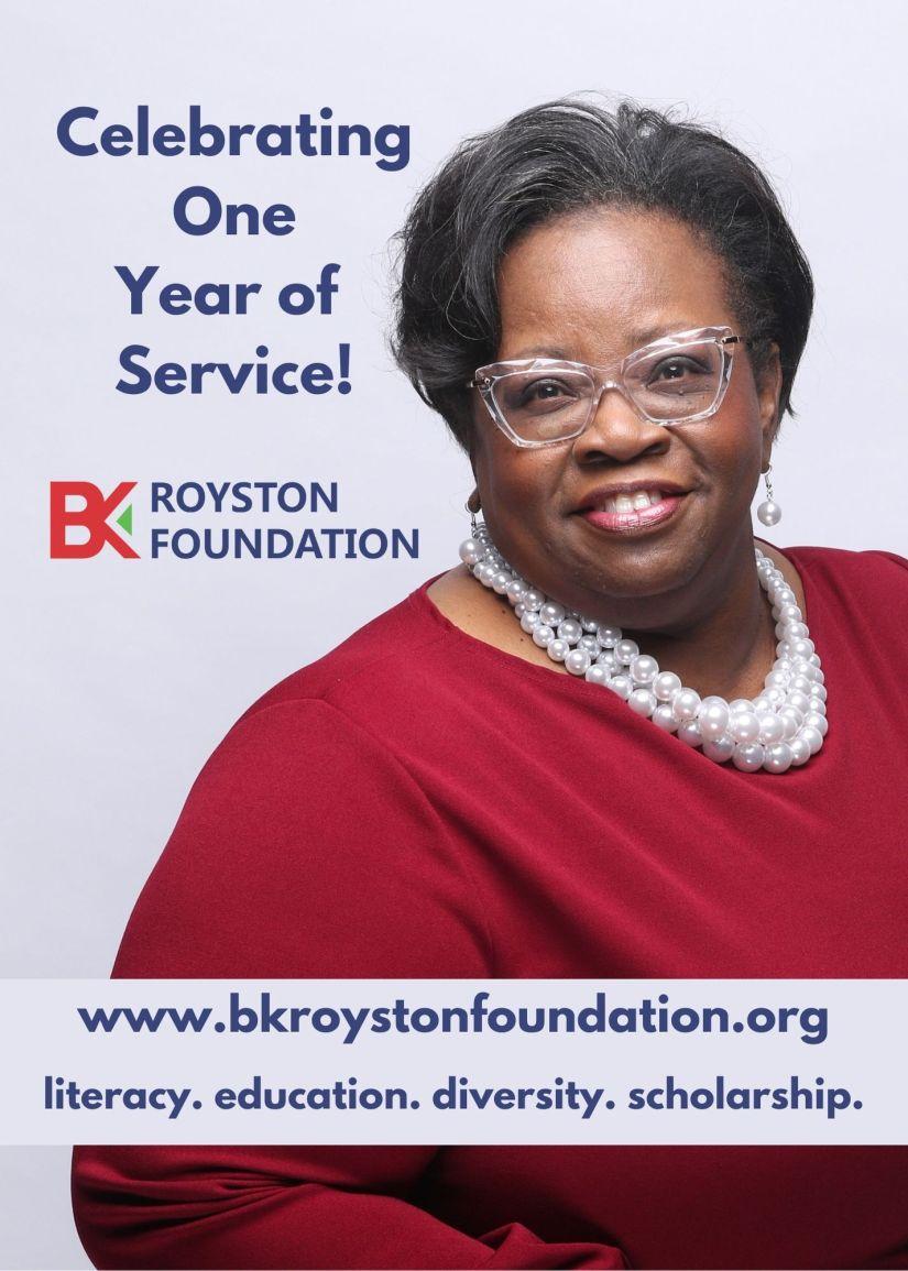 1 year BK Royston Foundation